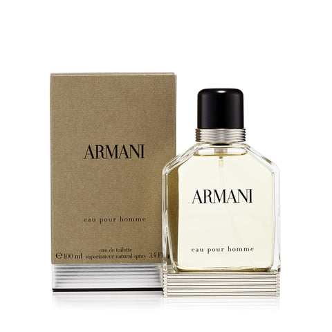 Armani Eau de Toilette for Men by Giorgio Armani 3.4 oz.