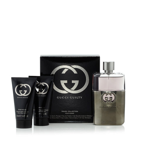 Gucci Guilty Gift Set for Men by Gucci 3.0 oz.