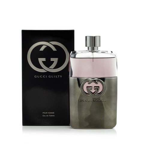 Guilty Eau de Toilette Spray for Men by Gucci 5.0 oz.