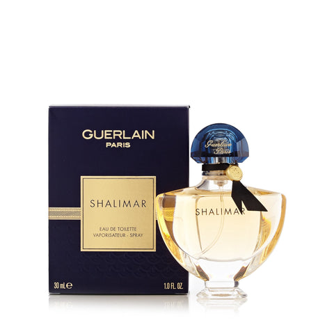 Shalimar Eau de Toilette Spray for Women by Guerlain 1.0 oz.