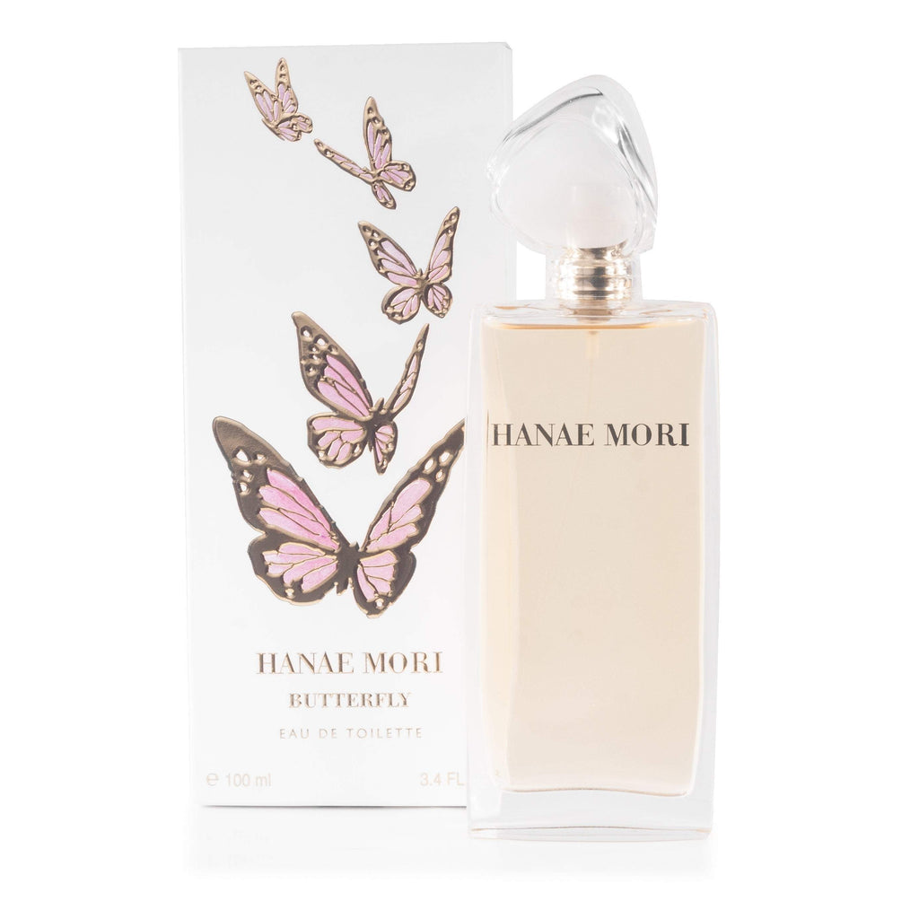 Hanae Mori Eau de Toilette for Women By Hanae Mori 3.4 oz.