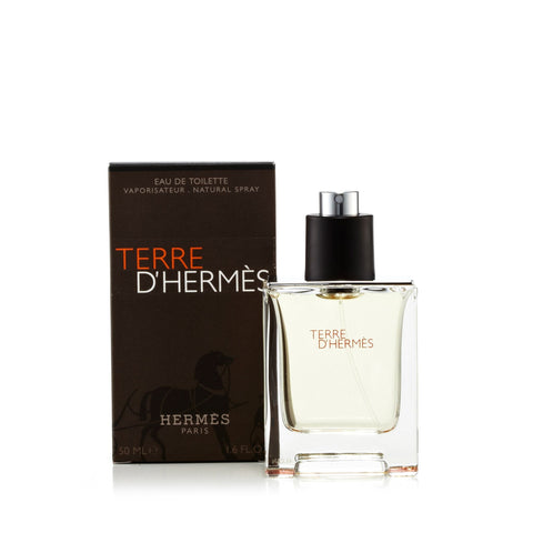 Hermes Terre D'Hermes Eau de Toilette Mens Spray 1.6 oz.