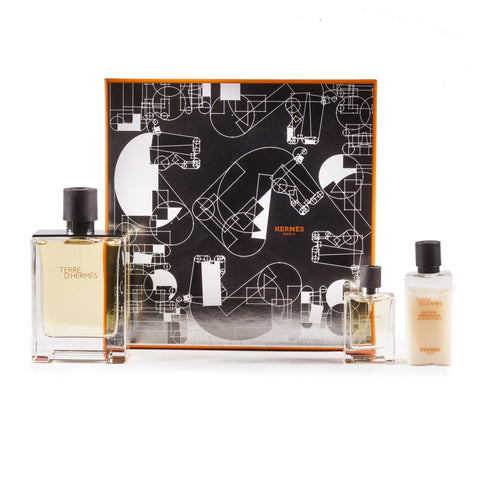 Terre D'Hermes Set for Men by Hermes 3.3 oz.