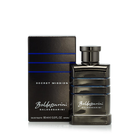 Baldessarini Secret Mission Eau de Toilette Spray for Men by Hugo Boss 3.0 oz.