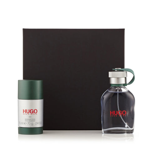 Hugo Green Gift Set for Men by Hugo Boss 2.5 oz.