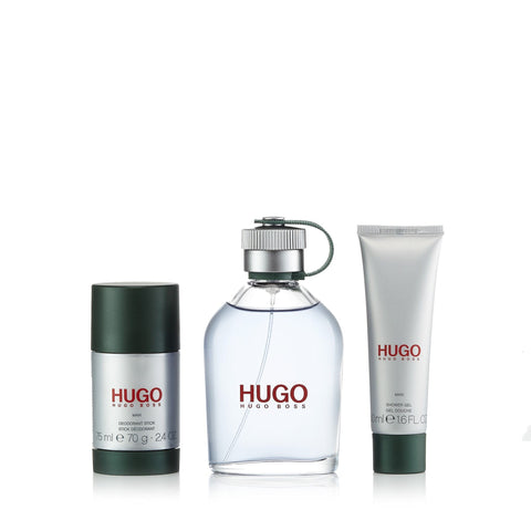 Hugo Green Set for Men by Hugo Boss 4.2 oz.