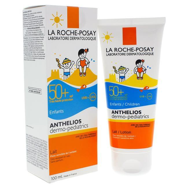 Anthelios Dermo-Pediatrics Lotion SPF 50 by La Roche-Posay for Kids - 3.4 oz Sunscreen