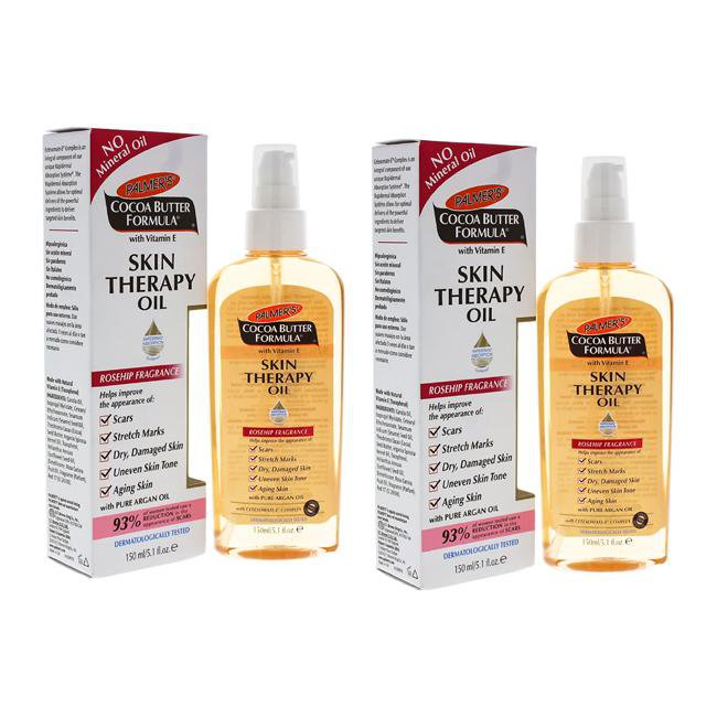 Cocoa Butter Skin Therapy Oil by Palmers for Unisex - 5.1 oz Oil