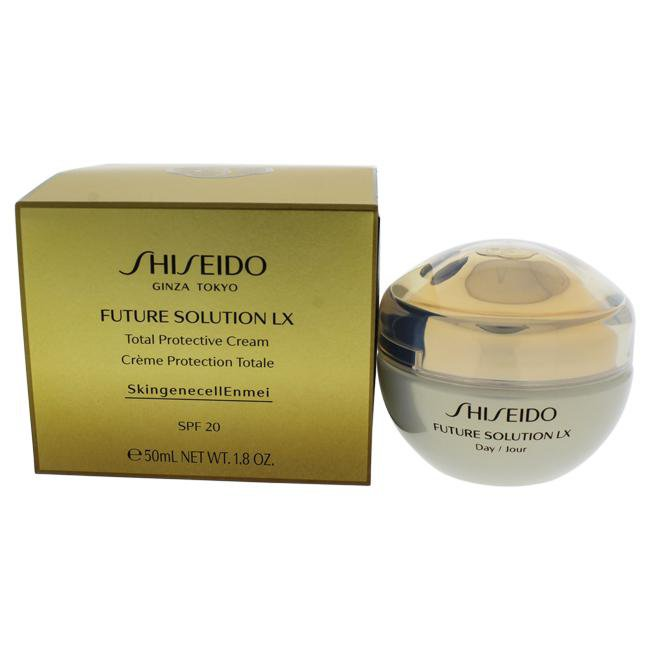 Future Solution LX Total Protective Cream SPF 20 by Shiseido for Unisex - 1.8 oz Cream