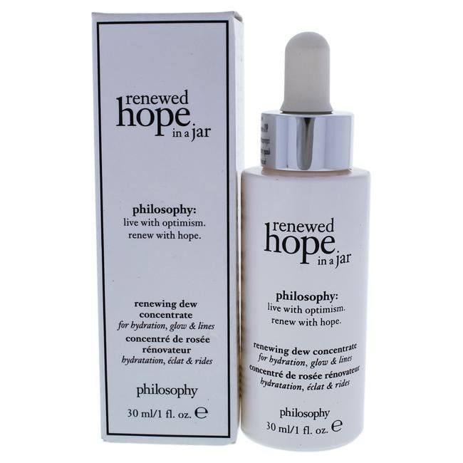 Renewed Hope in A Jar Renewing Dew Concentrate by Philosophy for Unisex - 1 oz Serum