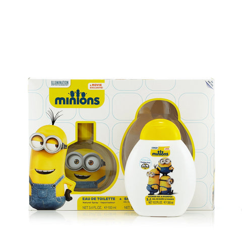 Minions Gift Set EDT Spray and Shower Gel for Boy by Illumination Entertainment 3.4 oz.image