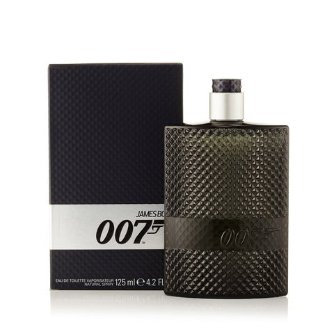 James Bond 007 Eau de Toilette Spray for Men by James Bond 4.2 oz.