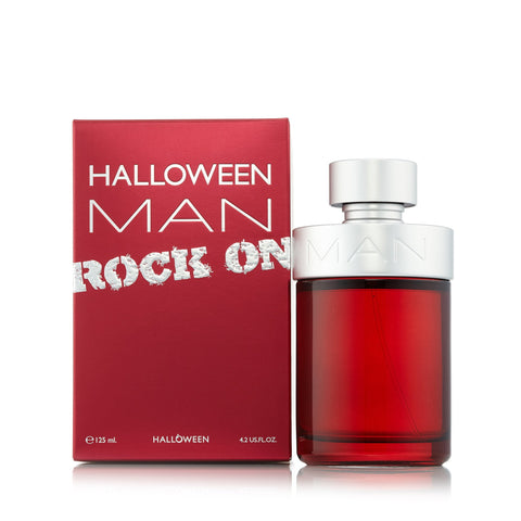 Halloween Man Rock Eau de Toilette Spray for Men by Jesus Del Pozo 4.2 oz.