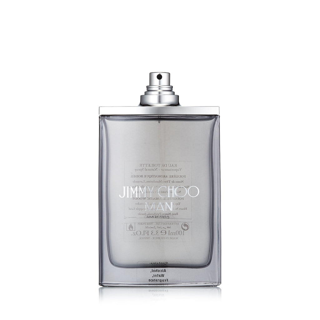 Jimmy Choo Man Eau de Toilette Spray for Men by Jimmy Choo 3.3 oz. Tester