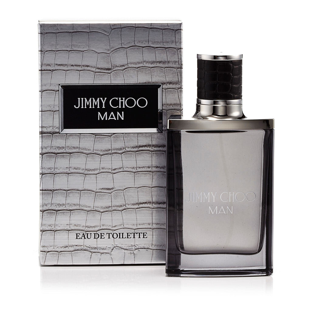 Jimmy Choo Man Eau de Toilette Spray for Men by Jimmy Choo 3.3 oz.