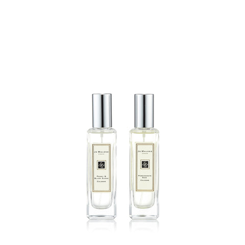 Pomegranate Noir & Peony and Blush Suede Gift Set by Jo Malone 1.0 oz. Each