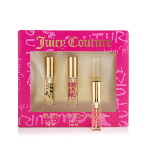 Juicy Couture Juicy Couture Coffret Miniatures Womens 0.3 oz.