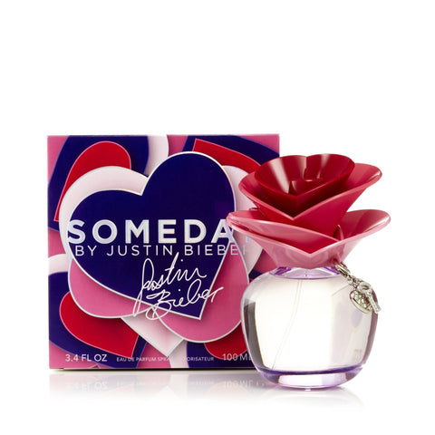 Justin Bibier Someday Eau de Parfum Womens Spray 3.4 oz.