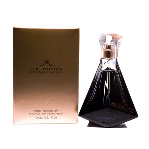 True Reflection Eau de Parfum Spray for Women by Kim Kardashian 3.4 oz.