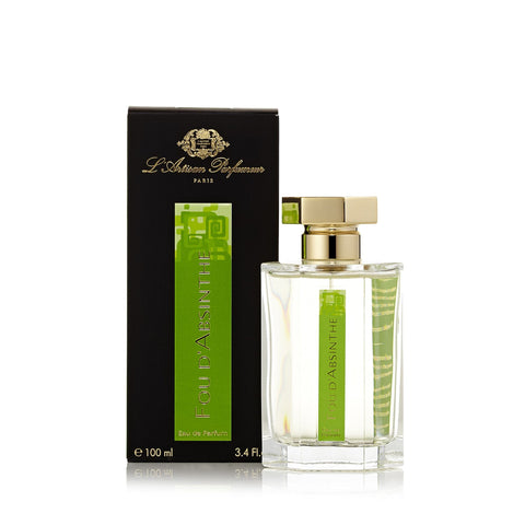 Fou D'Absinthe Eau de Parfum Spray for Men by L'Artisan Parfumeur 3.4 oz.