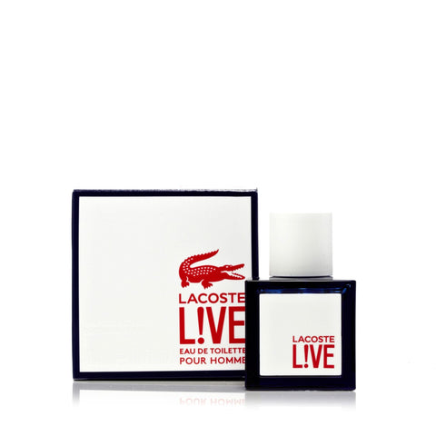 Lacoste L!Ve Eau de Toilette Mens Spray 1.3 oz.