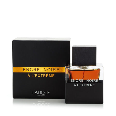 Encre Noire A L'Extreme Eau de Parfum Spray for Men by Lalique 3.4 oz.