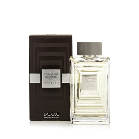 Hommage A L'Homme Eau de Toilette Spray for Men by Lalique 3.3 oz.