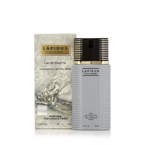 Lapidus Eau de Toilette Spray for Men by Ted Lapidus 3.3 oz.