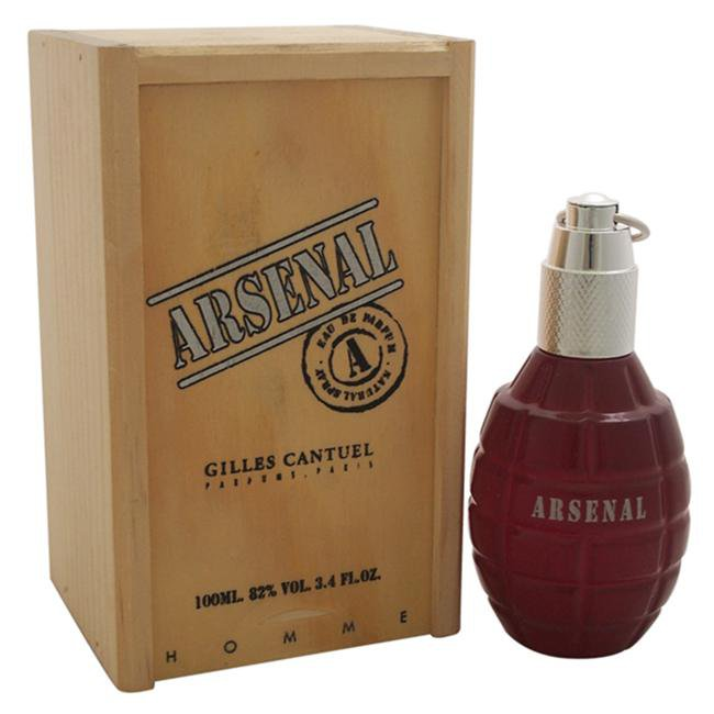 ARSENAL RED BY GILLES CANTUEL FOR MEN -  Eau De Parfum SPRAY