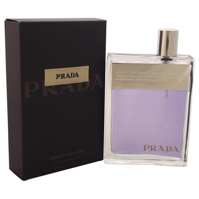 Prada Amber Pour Homme by Prada for Men -  Eau de Toilette - EDT/S