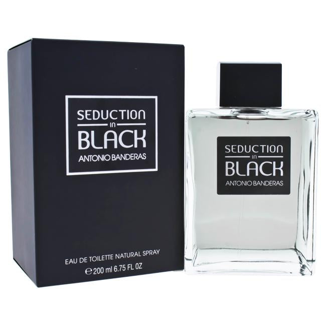 Seduction In Black by Antonio Banderas for Men - EDT Spray