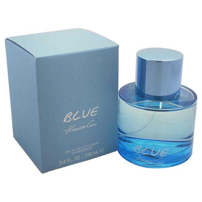 KENNETH COLE BLUE BY KENNETH COLE FOR MEN -  Eau De Toilette SPRAY