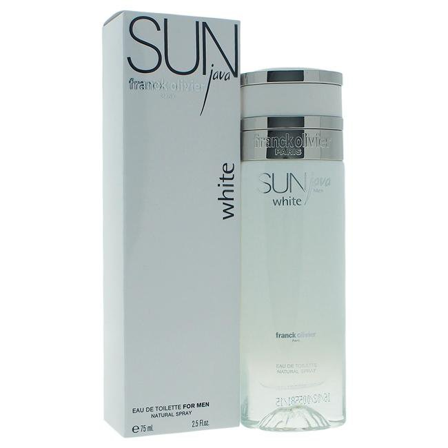 Sun Java White by Franck Olivier for Men -  Eau de Toilette - EDT/S