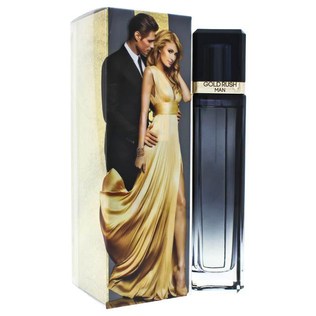 GOLD RUSH BY PARIS HILTON FOR MEN -  Eau De Toilette SPRAY