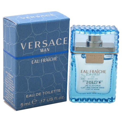 Versace Man Eau Fraiche by Versace for Men - EDT Splash (Mini)image