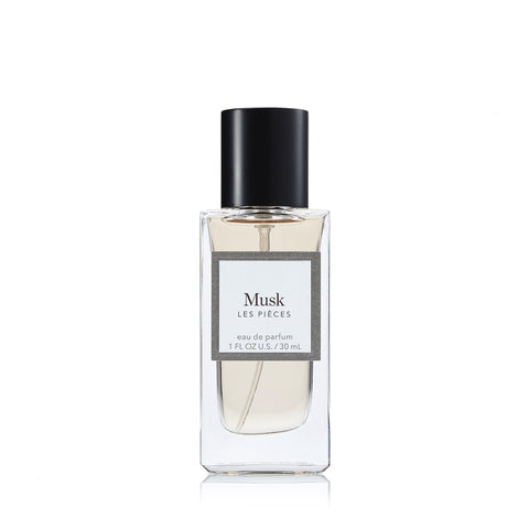 Musk Eau de Parfum Spray for Men by Les Pieces 1.0 oz.