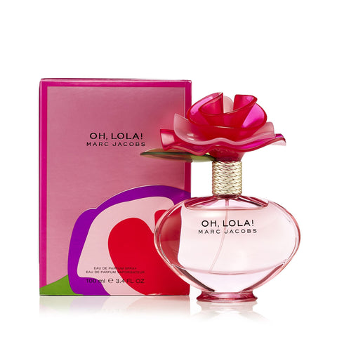 Oh Lola Eau de Parfum Spray for Women by Marc Jacobs 3.4 oz.