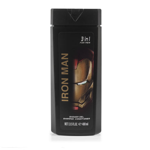 Iron Man All In One Shower Gel for Boys by Marvel 13.5 oz.