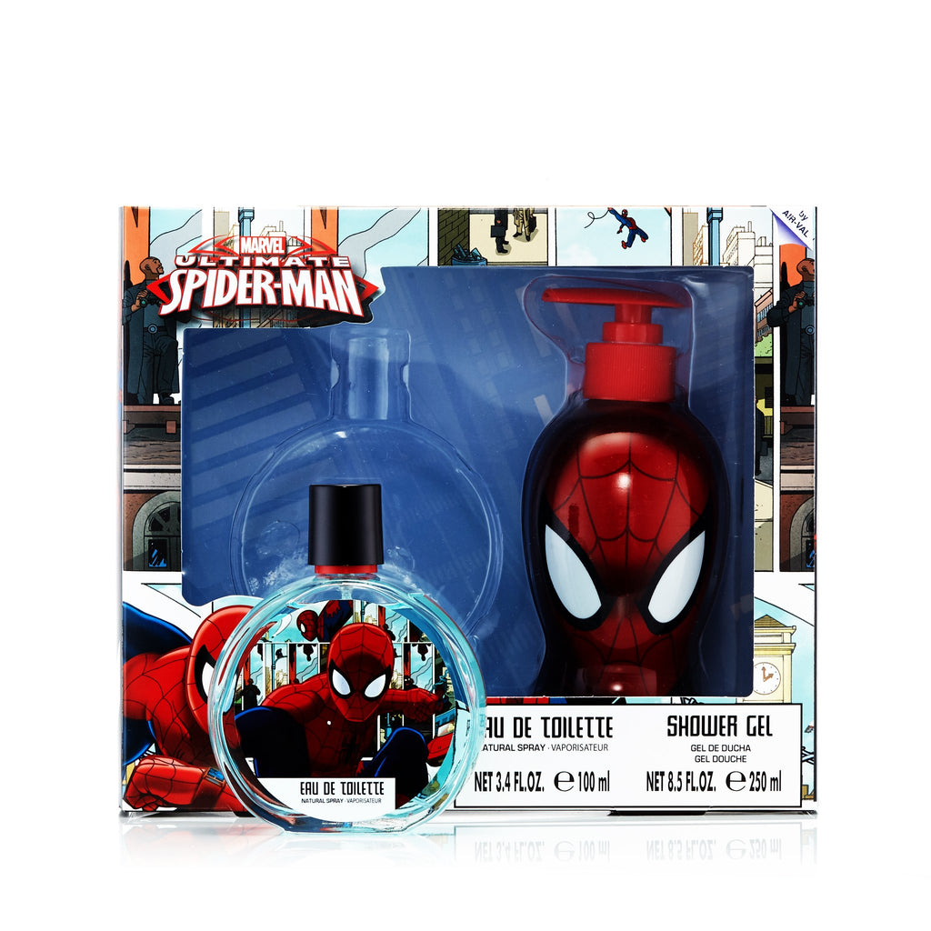 Ultimate Spiderman Gift Set for Boys by Marvel 3.4 oz.