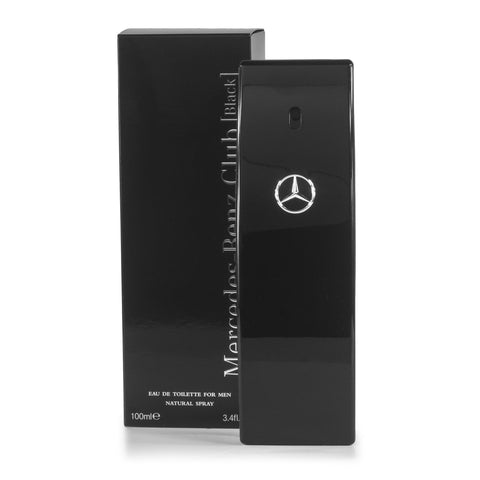 Mercedes-Benz Club Black Eau de Toilette Spray for Men by Mercedes-Benz 3.4 oz.