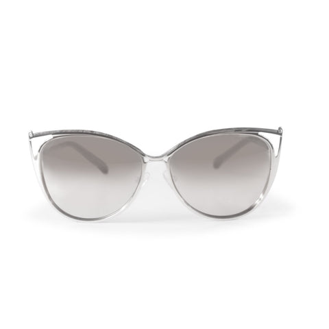 Grey and Silver Sunglasses by Michael Kors