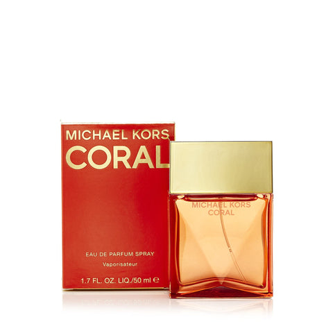 Coral Eau de Parfum Spray for Women by Michael Kors 1.7 oz.