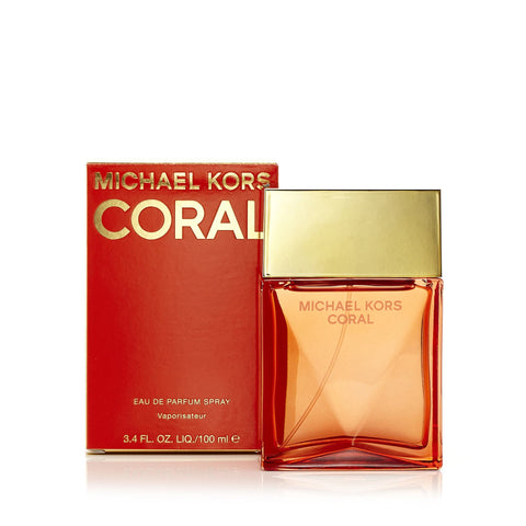 Coral Eau de Parfum Spray for Women by Michael Kors 3.4 oz.