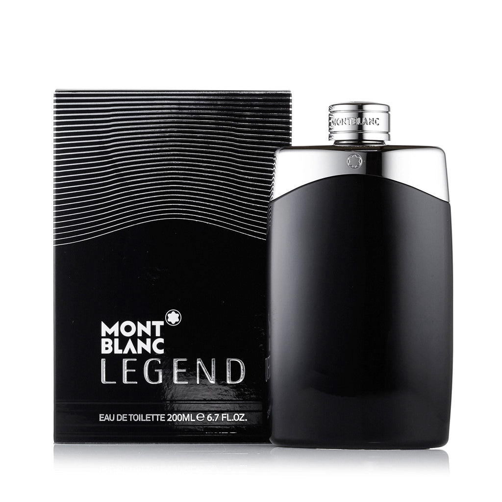 Legend Eau de Toilette Spray for Men by Montblanc 6.7 oz.