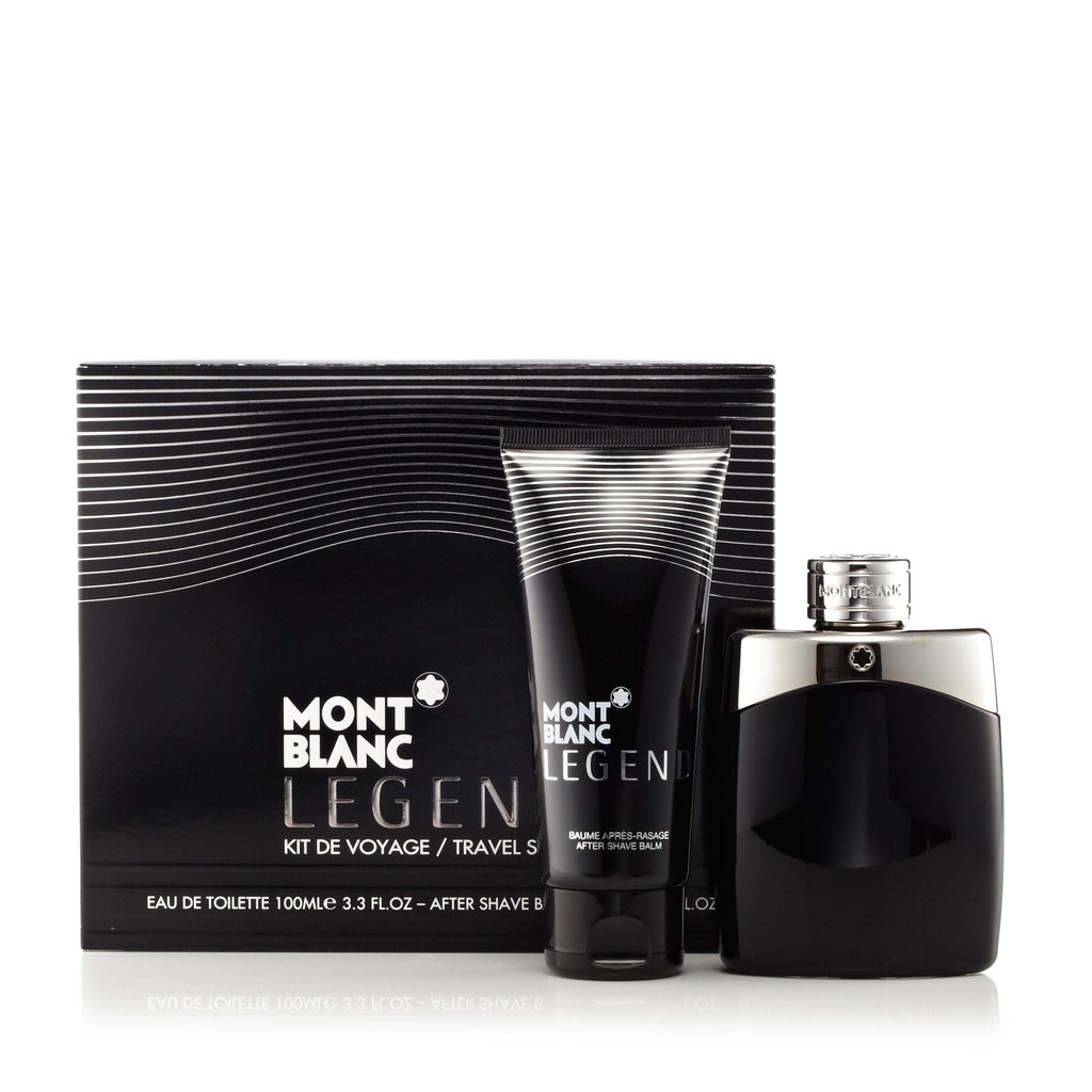 Montblanc Legend Gift Set After Shave and EDT Mens 3.3 oz.