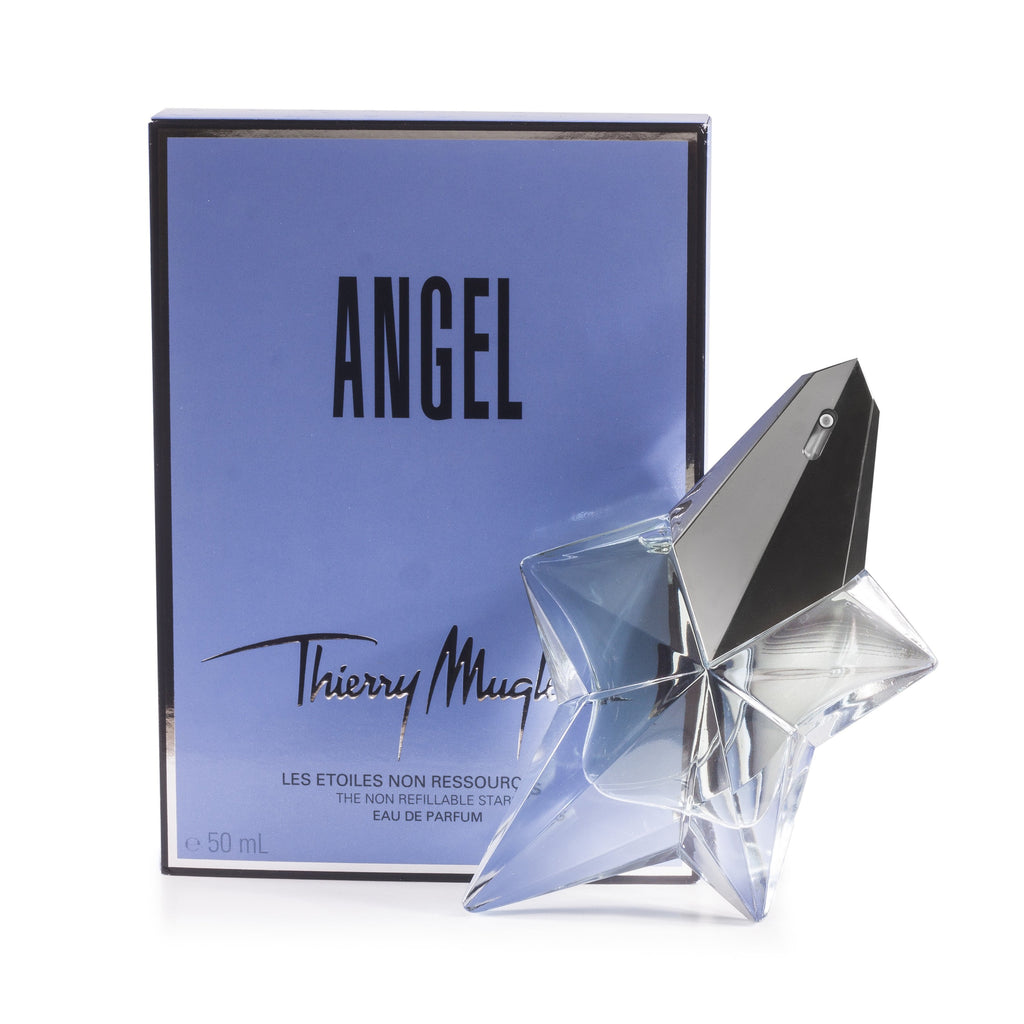 Angel Non Refillable Eau de Parfum Spray for Women by Thierry Mugler 1.7 oz.