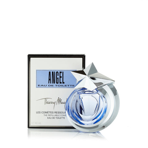 Angel Refillable Eau de Toilette Spray for Women by Thierry Mugler 1.4 oz.