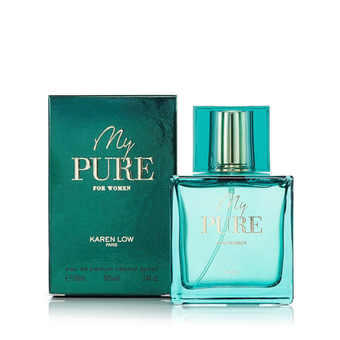 My Pure Eau de Parfum Spray for Women Karen Low 3.4 oz.