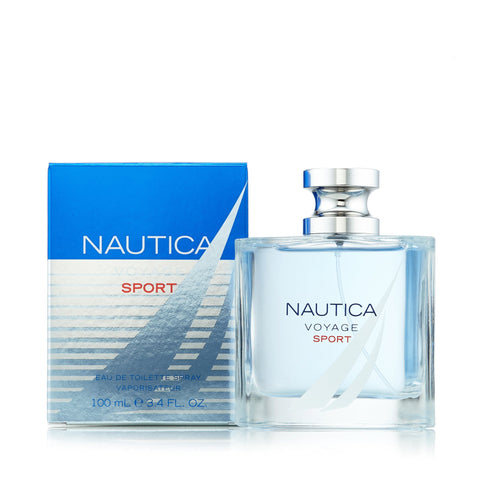Voyage Sport Eau de Toilette Spray for Men by Nautica 3.4 oz.