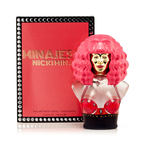 Nicki Minaj Minajesty Eau de Parfum Womens Spray 3.4 oz.